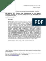 Doc, Estado Nutricional en Paciente Con Cancer Colorectal