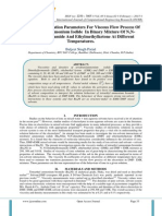 A Study Of Activation Parameters For Viscous Flow Process Of Tetrabutyl Ammonium Iodide In Binary Mixture Of N,N-Dimethylformamide And Ethylmethylketone At Different Temperatures.