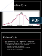 Fashion Cycle and Theories