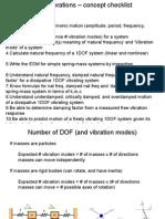 Vibration Summary Testing