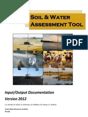 SWAT IO Documentation 2012   Drainage Basin   Water Resources