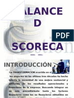 Balanced Scoredcard - Cuadro de Mando