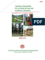 MADHYA PRADESH STATE ACTION PLAN ON CLIMATE CHANGE
