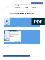 Instalacion Del Appserv