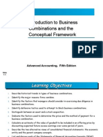 Ch01 Introduction to Business Combinations and the Conceptual Framework
