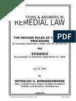 Criminal Procedure and Evidence - Short