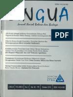 LINGUA STBA LIA (Vol. 9, No. 2, 2010)