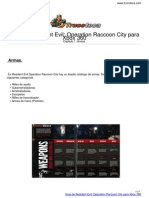 Guia Trucoteca Resident Evil bnbmbmbmbOperation Raccoon City Xbox 360