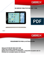 Tablet b7916e 8gb y 16 Gb