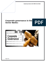Corporate Governance in the Public Sector Banks