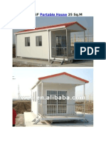 1-LGSF Portable House 25 SqM