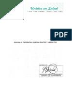 Control de Temperatura Humedad Relativa y Cadena Fri 1