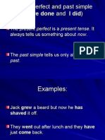Present Perfect vs Past