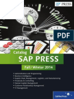 SAP PRESS Fall Catalog Final Low Res