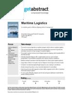 Maritime Logistics Song en 17668