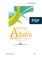 Str Ding in Allah s Shade