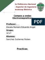 Practica 1 Ondas ElectroMagneticas