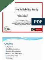 Predictive Reliability Study