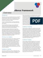 school excellence framework overview factsheet
