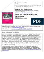 Power and Ethnicity History and Anthropology-libre