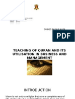 TEACHING OF QURAN AND ITS UTILISATION IN BUSINESS.pptx