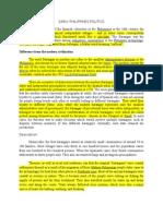 Pcsi 101 Early Philippines Politics & Religion