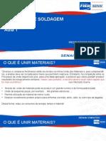 Processo de Soldagem- Aula1
