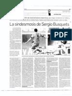 La sindesmosis de Sergio Busquets