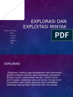 Explorasi Dan Exploitasi Minyak Bumi