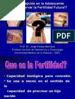 Pelaez Jorge  ANTICONCEPCIÓN Y FERTILIDAD