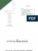 AUROUX (1992) a Revolução Tecnológica Da Gramatização - Capítulo 2