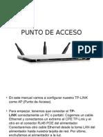 Punto de Acceso Tp-link