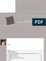 Analiza Ofertei Culturale Din Bucuresti 2009
