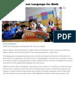 Portfolio Articles