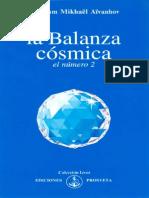 Aivanhov Omraam Mikhael La Balanza Cosmica El Numero 2