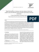Analytica Chimica Acta Volume 412 issue 1-2 2000 [doi 10.1016_s0003-2670(00)00758-3] P. Viñas; M. Pardo-Martı́nez; M. Hernández-Córdoba -- Rapid determination of selenium, lead and cadmium in ba.pdf