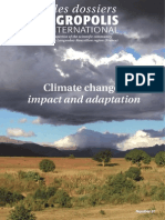 Climate Change Impact and Adaptation