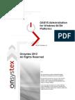 OAS Administration - Windows