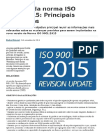 Revisão Da Norma ISO 9001 2015
