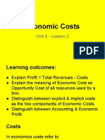 unit 6 - lesson 2 - explicit & implicit costs
