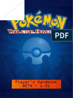 Pokémon Tabletop Adventures Players Handbook