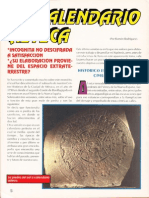 El Calendario Azteca R-080 Nº009 - Reporte Ovni