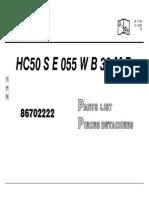 HC50 S E 055 W B 38 M B(T38)
