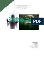 Trabajo Psicofisiopatologia