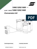 LAE LAF Conversion Kit