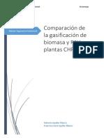 Comparaciónn Biomasa y RSU en Gasificaciónn. Roberto Aguilar y Francisco Aguilar