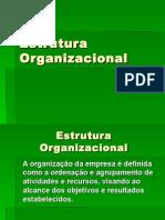 Estrutura Organizacional PPT
