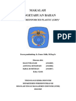 MAKALAH GLASS REINFORCED PLASTIC (GRP).doc