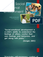EDU3063 - Socio emotional management
