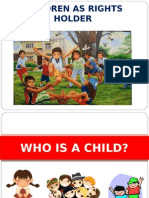 1. Who is a Child
